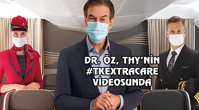 Dr. Öz THY'nin Yeni Reklam Yüzü Oldu