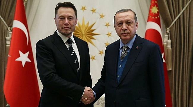Erdoğan, Elon Musk ile Görüştü