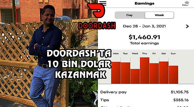 İşte Doordash'tan 10 bin Kazanmanın Sırları