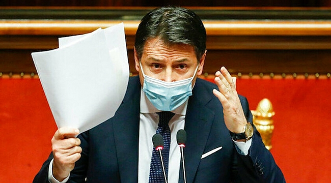 İtalya Başbakanı Conte İstifa etti