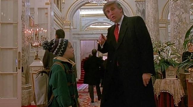 Macaulay Culkin De Trump Filmden Çıksın Dedi