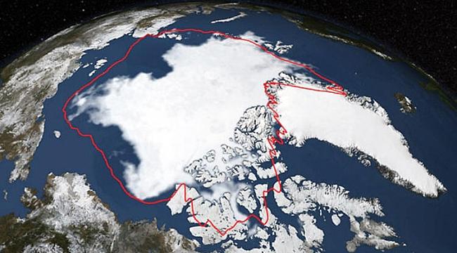 Nasa Paylaştı: Kuzey Kutbunda Korkutan Tablo