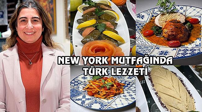 New York Mutfağına Kadın Eli Değdi