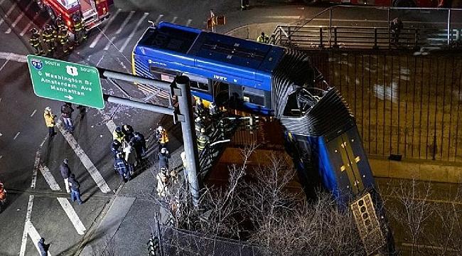 New York'ta Otobüs Kazası!