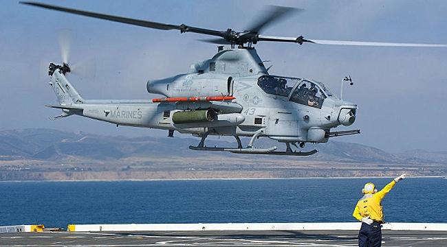 NY'da Askeri Helikopter Düştü