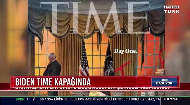 Time'dan Dikkat Çekici Biden Kapağı