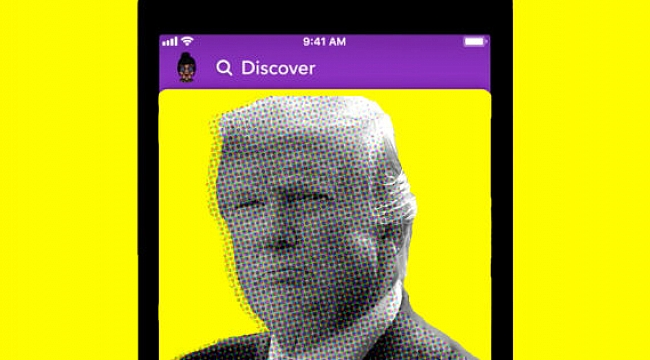 Trump'a Bir Darbede Snapchat'ten