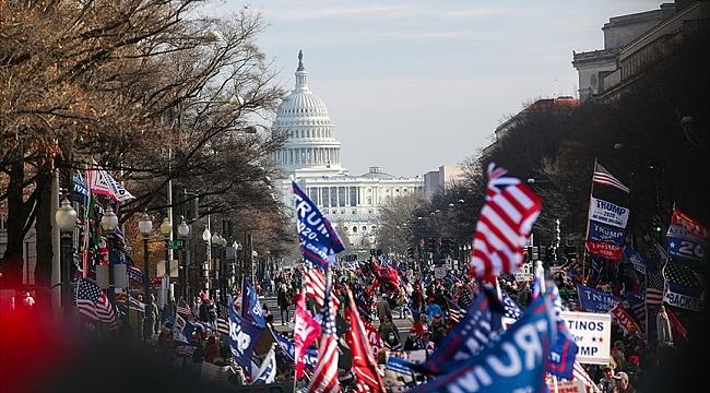 Trump Destekçileri Kongre Binasında