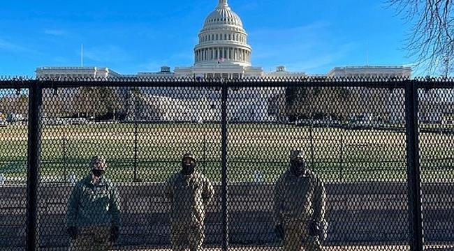 Washington DC'de Tel Örgülü Önlemler!