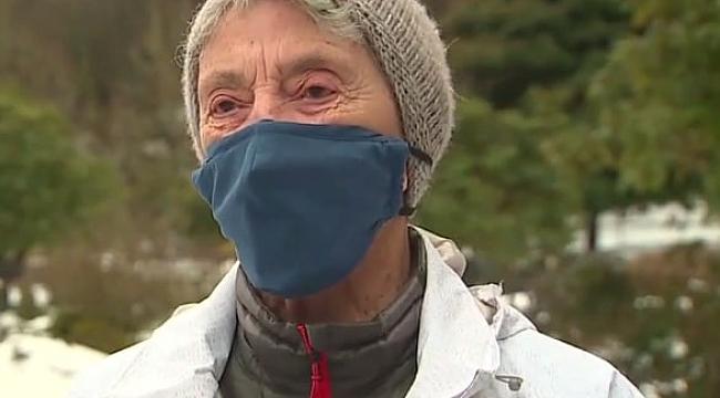 ABD'de 90'lık Kadın, Aşı İçin 10 Km Yürüdü