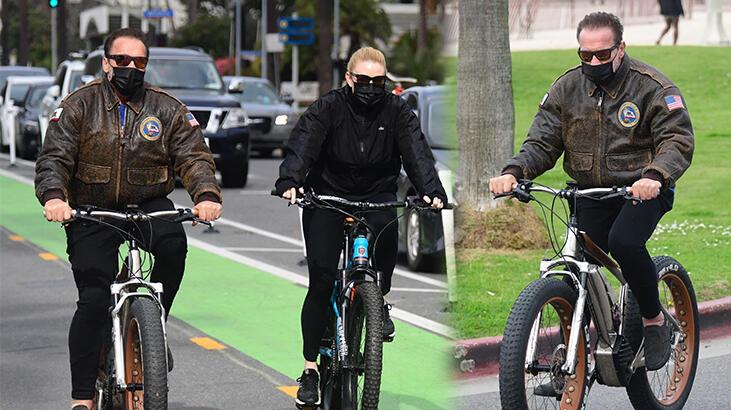 Arnold Schwarzenegger gençlere taş çıkarıyor
