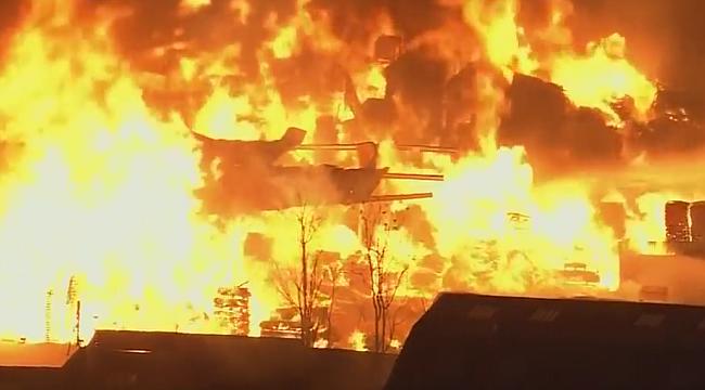 Los Angeles'ta Büyük Yangın!