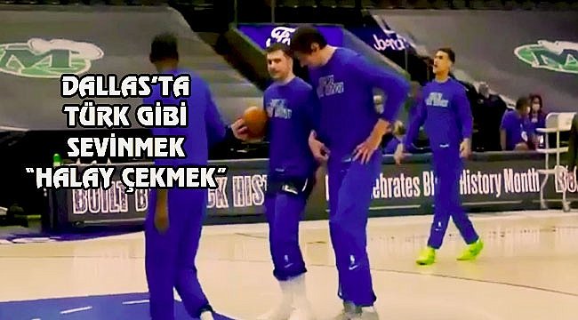 Luka Doncic ve Boban Marjanovic'in Halayı