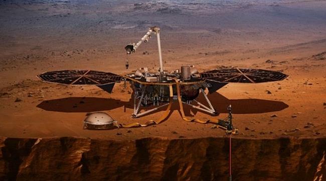 Mars'tan Yeni Fotoğraflar Geldi