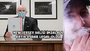 New Jersey'de Esrar Yasallaştırıldı