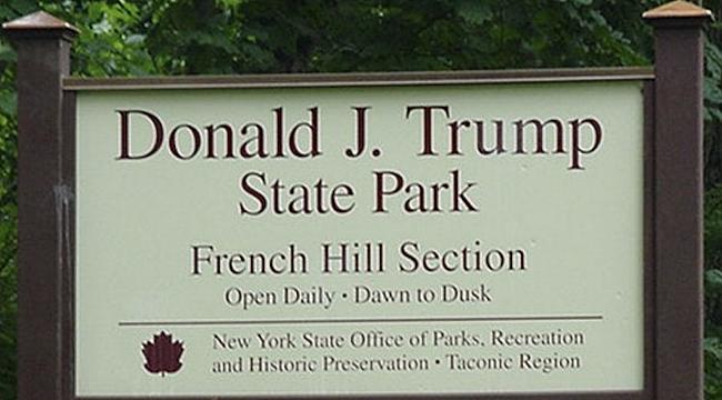 New York, Trump Parkı'nın Adını Değiştiriyor