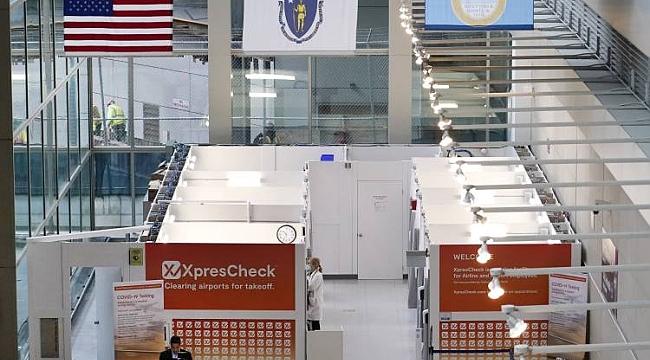 Newark Havaalanı'ndan PCR Testi Hamlesi