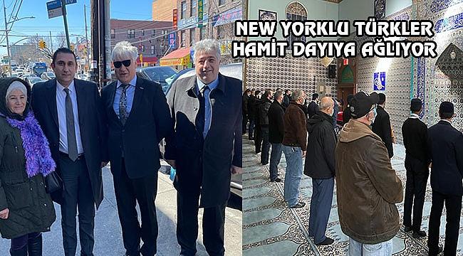 Hamit Dayı New York'ta Toprağa Verildi