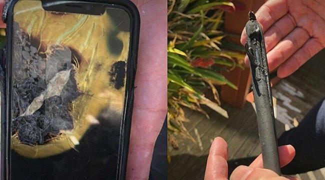 'iPhone X' Cebinde Patlayınca...