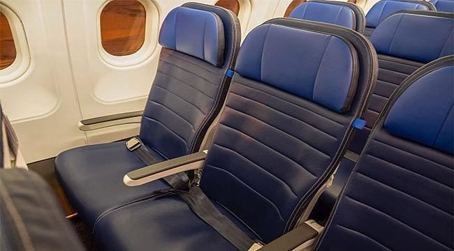 ABD Uçaklarında Orta Koltukları Boş Kalacak