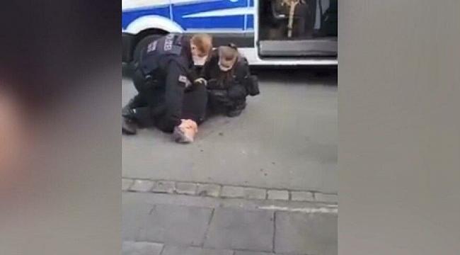 Alman Polisinden Türk İşadamına Şiddet!