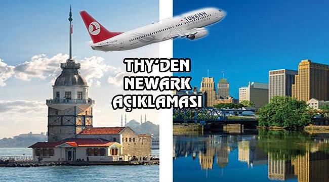 İstanbul-Newark Uçuşu Başlıyor