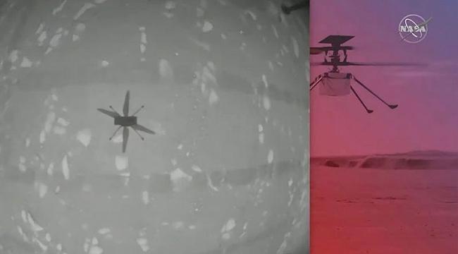 NASA, Mars'ta Helikopter Uçurdu!