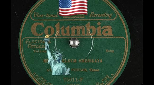 Neden Geldim Amerika'ya Şarkısı - 1926