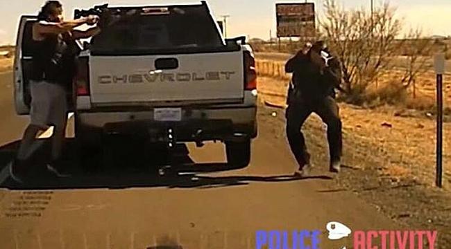 New Mexico'da Polis Cinayeti