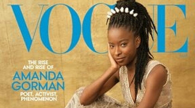 Vogue Dergisinin Kapağında Bir İlk!