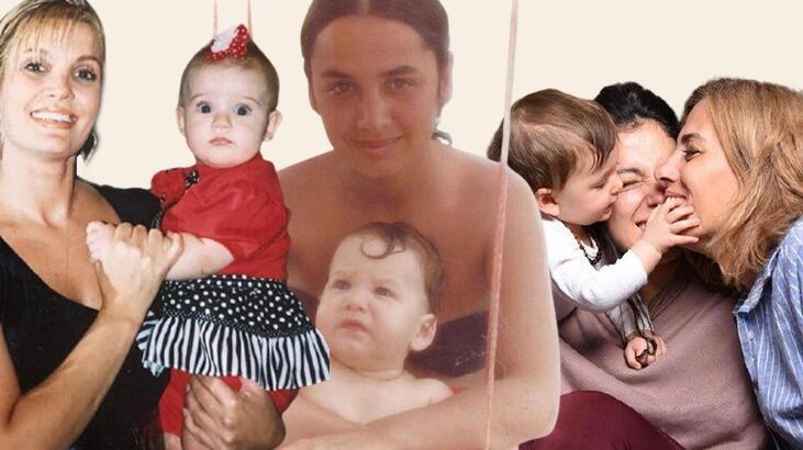Ünlülerin 'Anneler Günü' paylaşımları