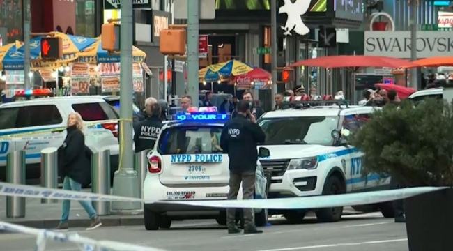 Child, 4, among three people shot in New York's Times Square