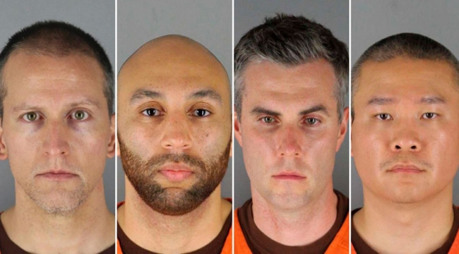 Four ex-cops indicted on US civil rights charges in George Floyd death