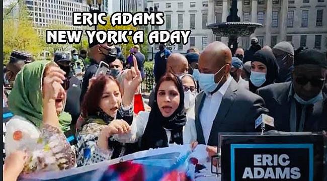 Müslümanlar'dan Eric Adams'a Destek