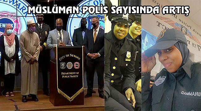 New Jersey'de Başörtülü Polis Sayısında Artış