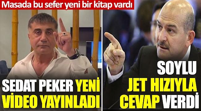 Sedat Peker 4. videoda Bakan Soylu'yu hedef aldı
