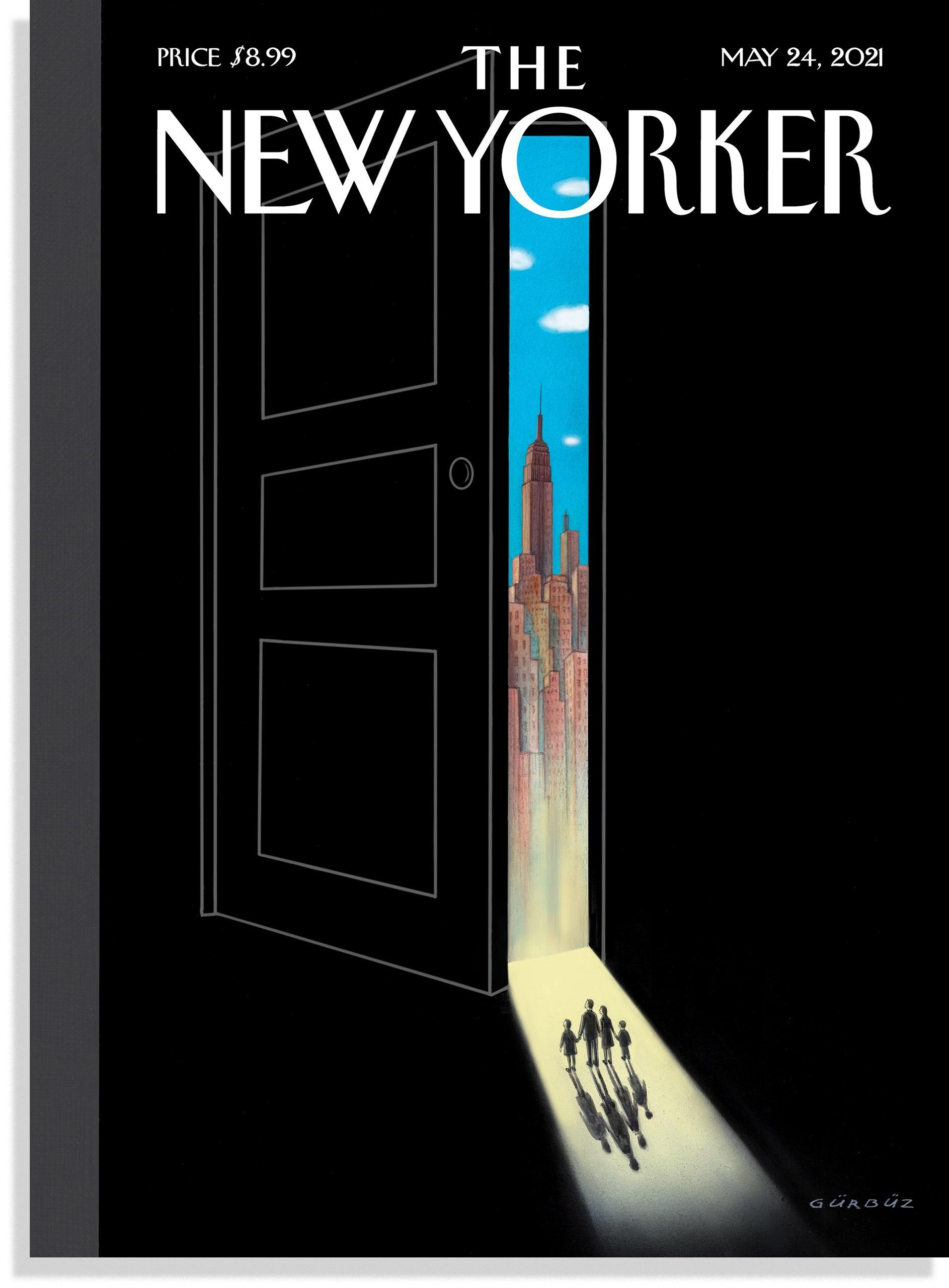 'The New Yorker'ın Kapağını Bir Türk Tasarladı