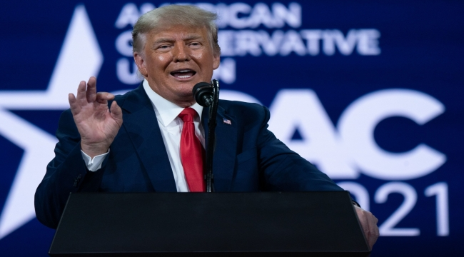 Trump launches new website ahead of Facebook ruling