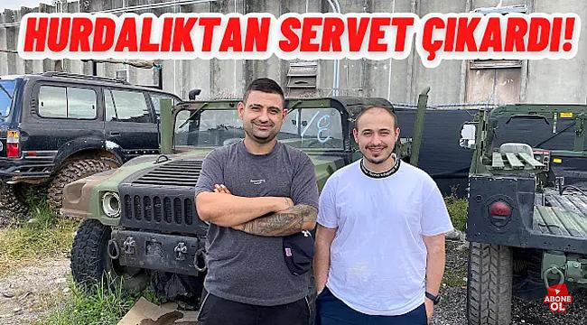 ABD'de Oto Hurdalığından Servet Kazanan Türk