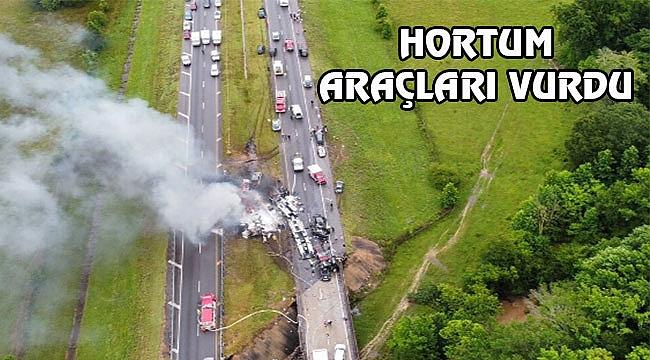 Alabama'da Hortum Otoyolu Vurdu: 12 Ölü