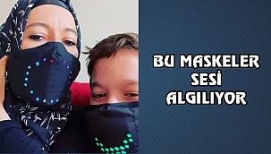 Chicago'da Ebrar Çaputlu'nun Funy Mask Testi