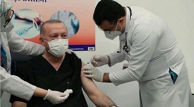 Erdoğan'ın 3. Doz Aşısı Dünya Basınında
