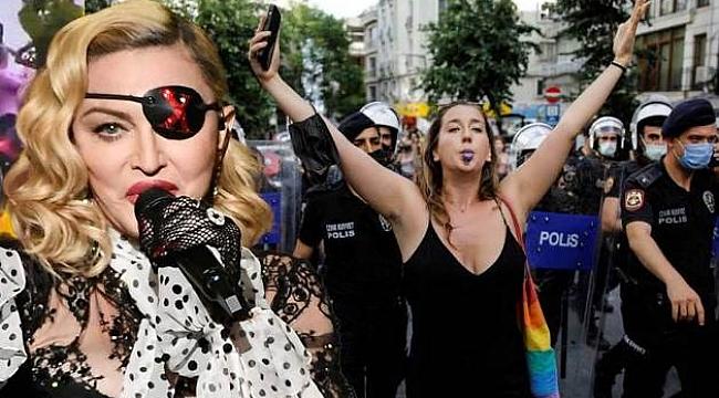 Maddonna'dan 'İstanbul Onur Yürüyüşü' Paylaşımı