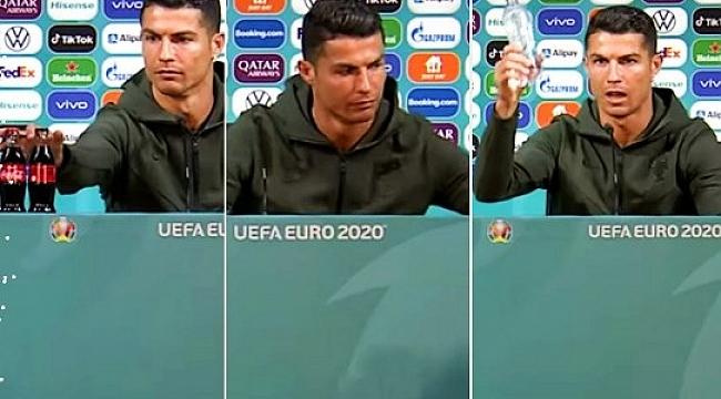 Ronaldo 'Su İçin' dedi Coca Cola 4 Milyar Dolar Kaybetti