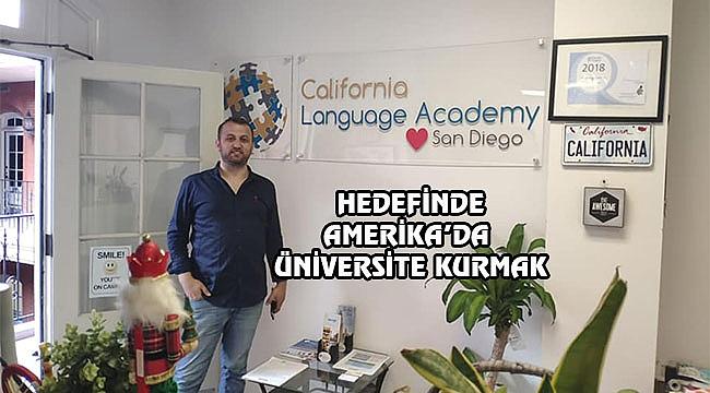 Hasan Altuntaş'tan California'da Dil Okulu