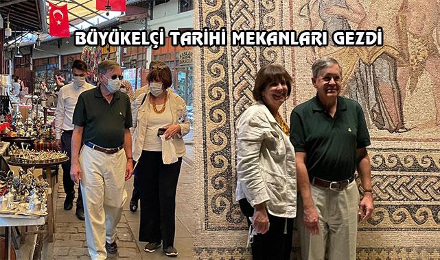 ABD'nin Ankara Elçisi Satterfield Gaziantep'te