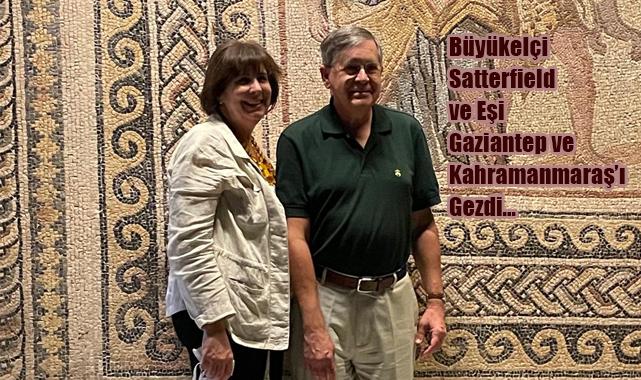 Büyükelçi Satterfield ve Eşi Zeugma'daydı...