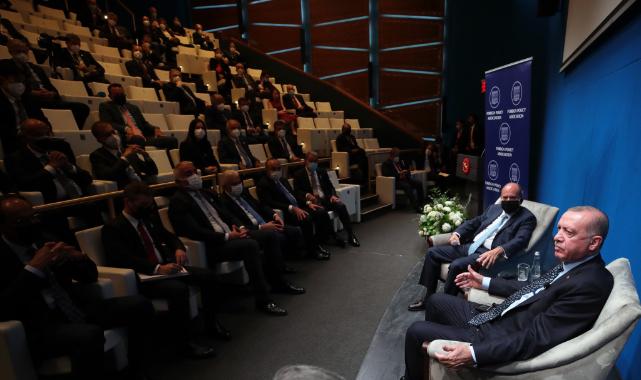 Cumhurbaşkanı Erdoğan Temaslarına Devam Etti