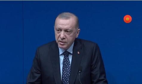 Cumhurbaşkanı Erdoğan TÜRKEN Vakfı İle Buluştu