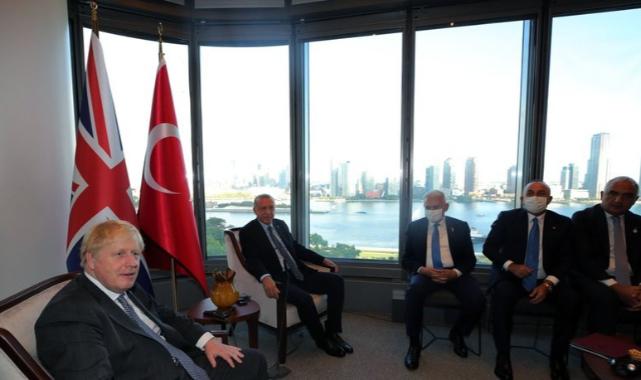 Erdoğan, Boris Jonhson ile Biraraya Geldi